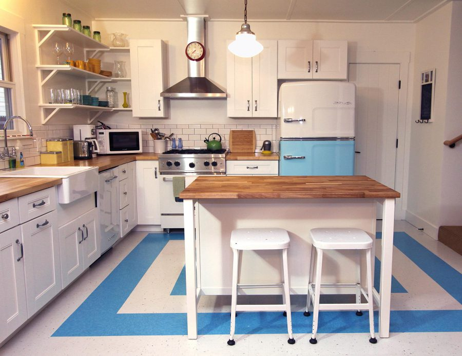retro kitchen renovation ideas.