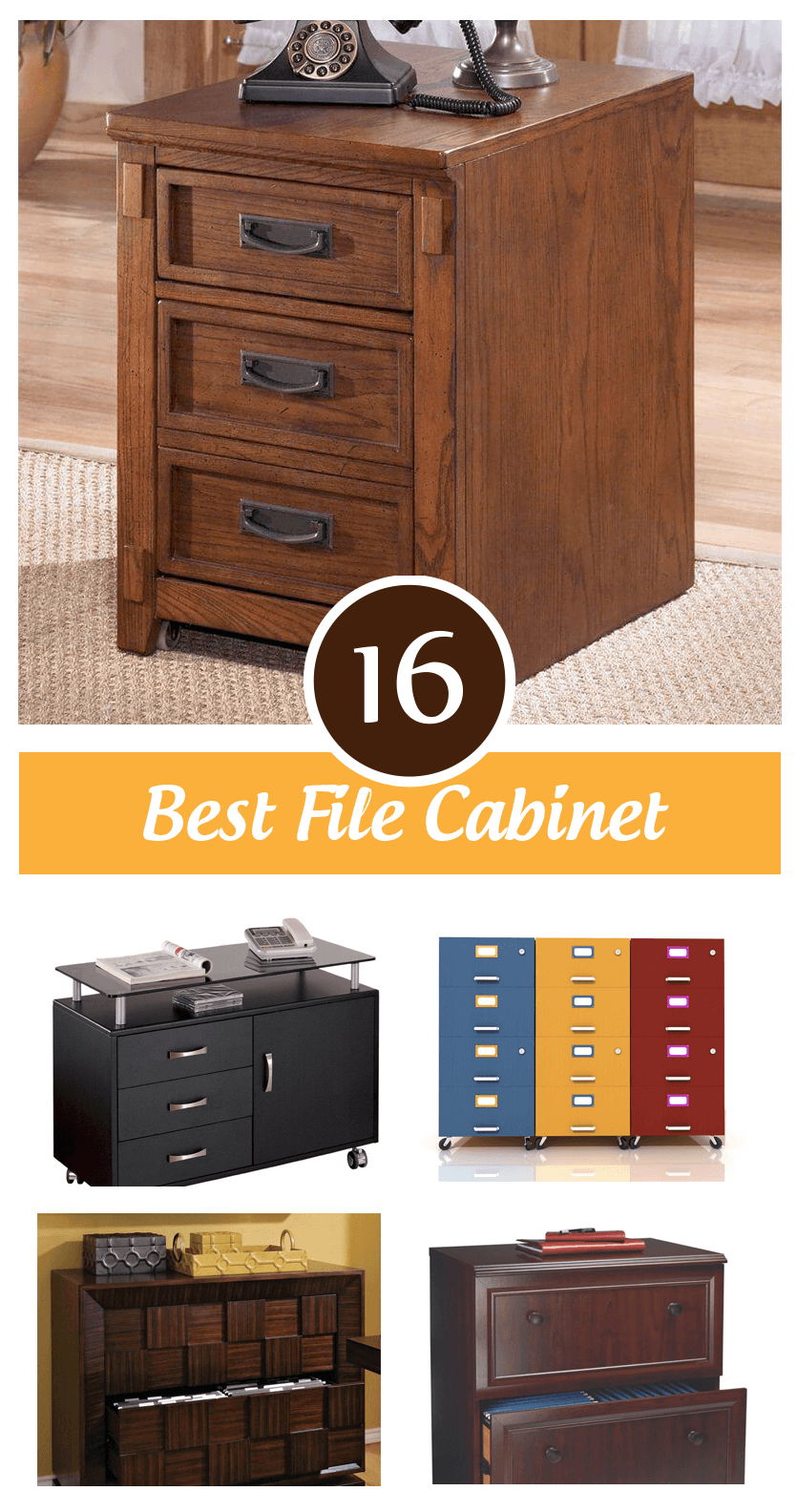 Decorative File Cabinets For Home