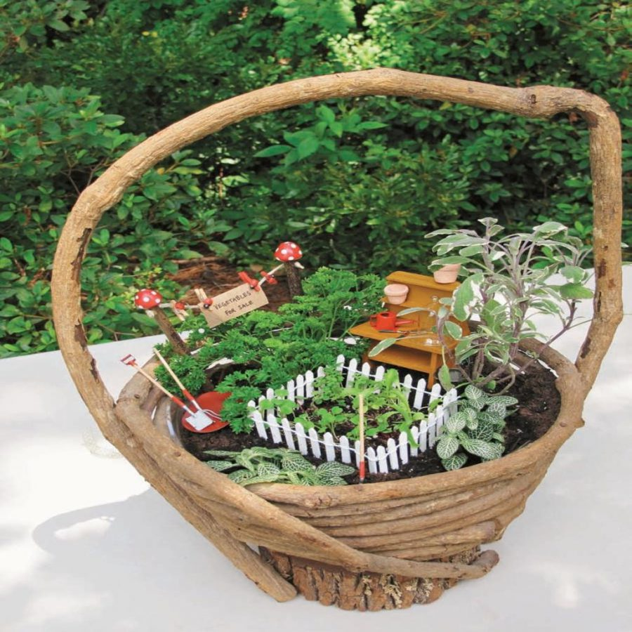 Decoration on Basket