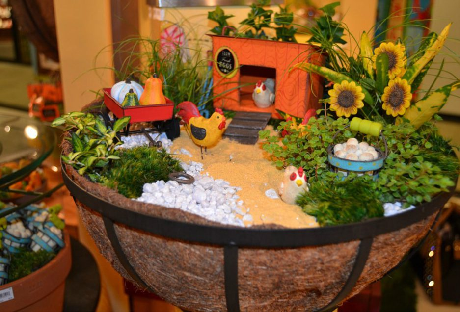 Fairy Garden Idea For Fall