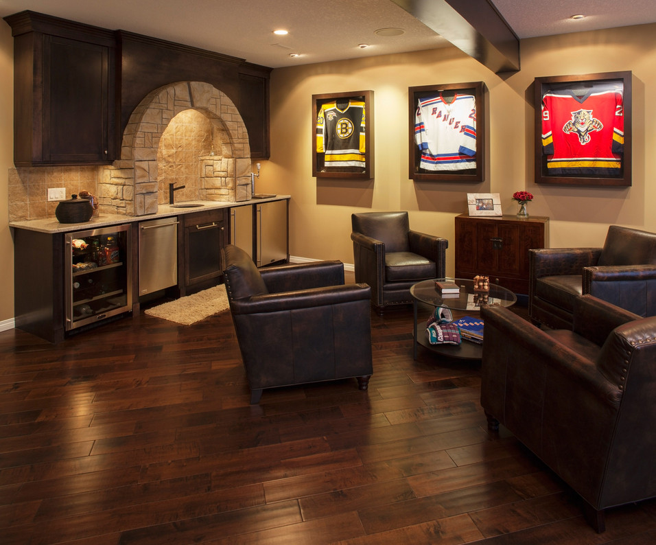 Basement Man Cave Design Ideas