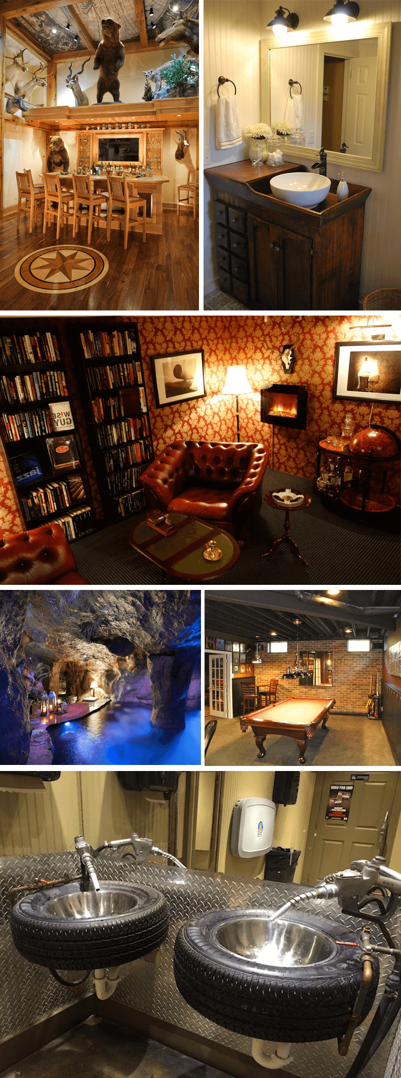50 best man cave ideas and designs for your inspiration for Man cave plans