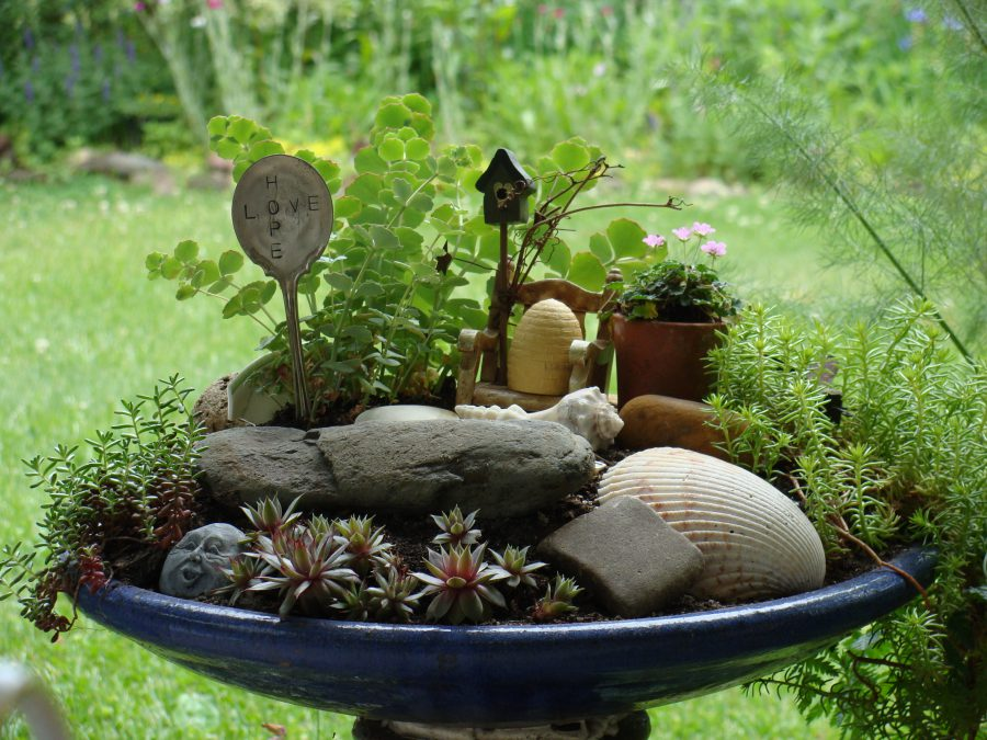 diy cheap miniature fairy garden ideas