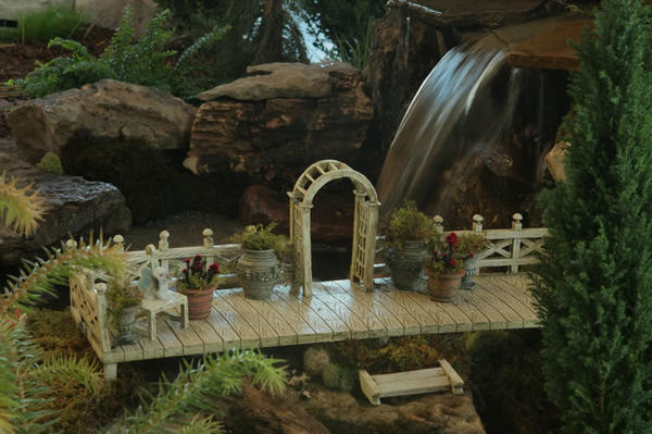 fairy garden bridge