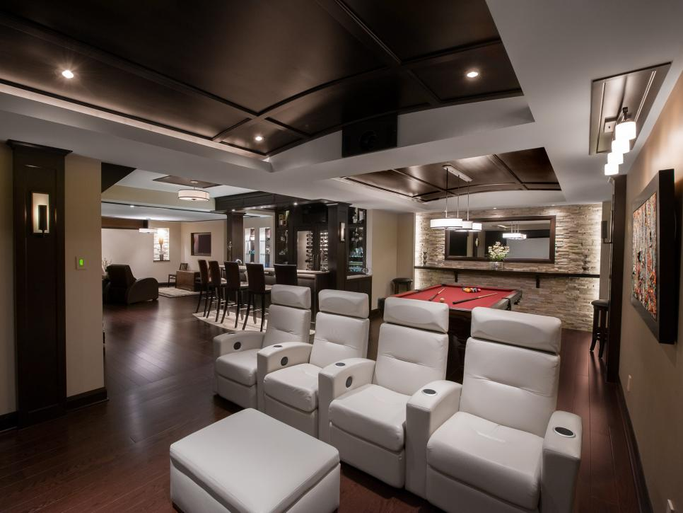 Modern Man Cave Bar Design Ideas