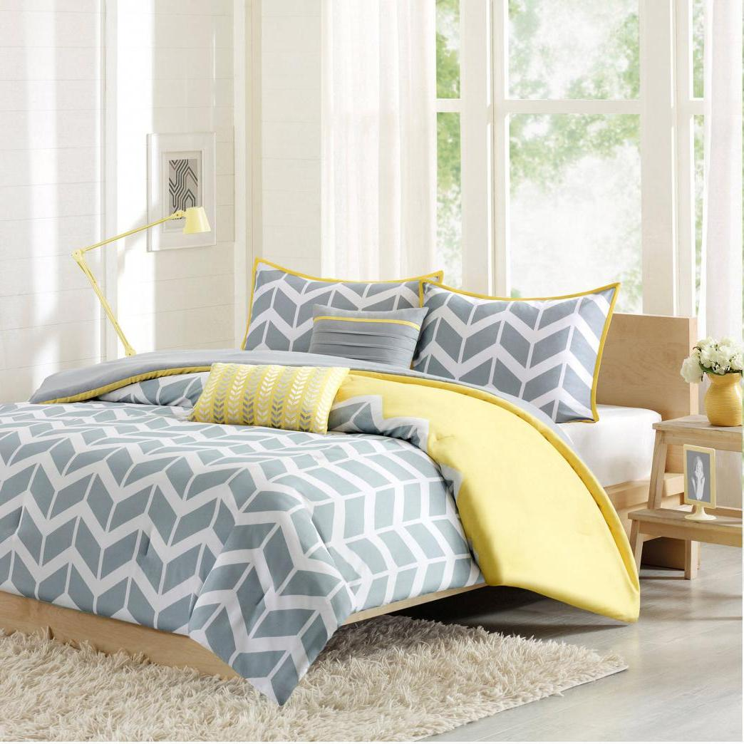 Yellow And Grey Bedroom Themes: 40 Stunning Grey Bedroom Furniture Ideas, Designs And