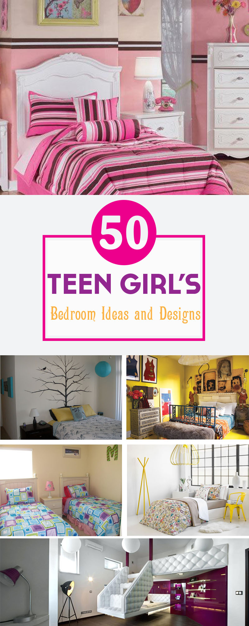 Best Teen Girlu0027s Bedroom Ideas And Designs
