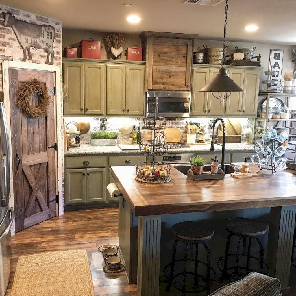 Farmhouse Kitchen Ideas Farmhouse Kitchen Decor Oak: 34 Great Farmhouse Kitchen Decor Ideas