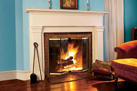 Air Spaces Fireplace