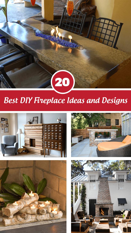 Best DIY fireplace design ideas