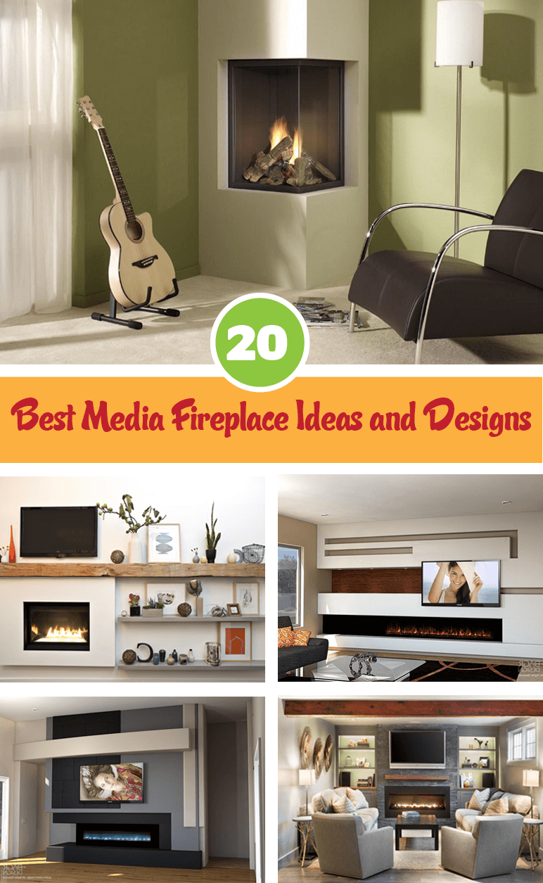 Best Media Fireplace Ideas and Designs