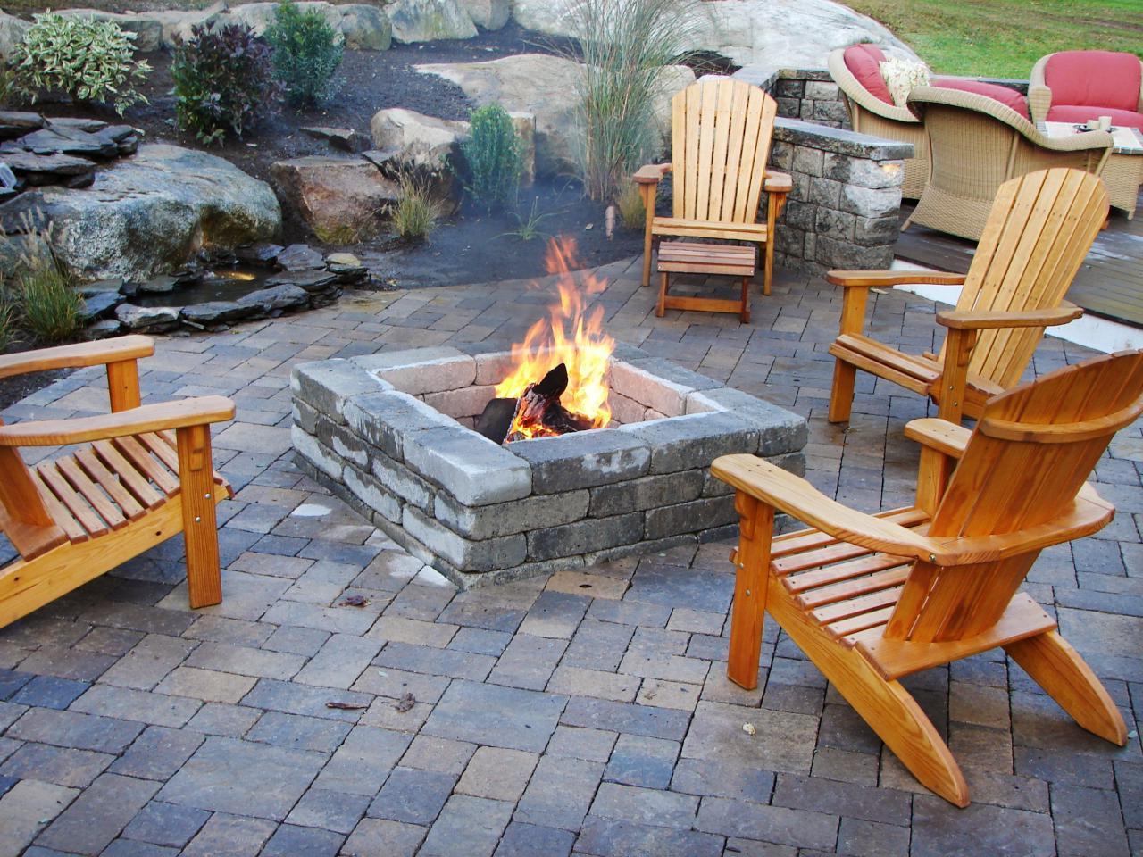 Cheap Outdoor Fireplace Idea