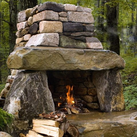 Come Outdoors Fireplace
