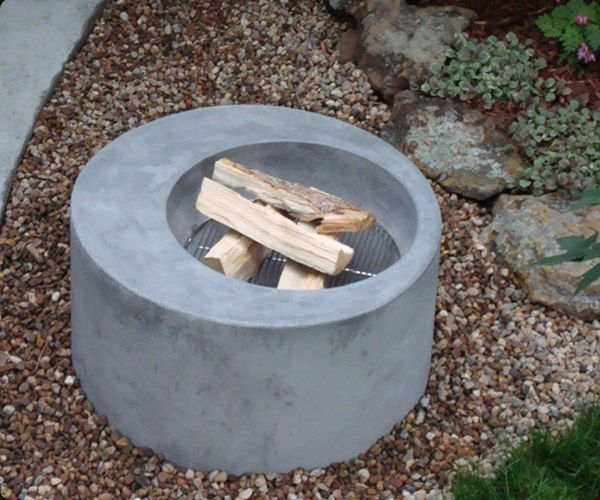 Concrete Ring Fire Pit