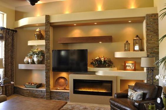 contemporary-media-fireplace