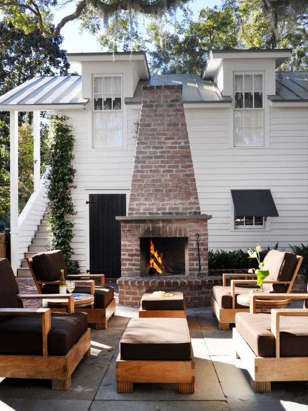 DIY Brick Fireplace Design Ideas