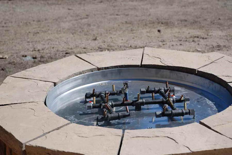 DIY Gas Fire Pit Ideas