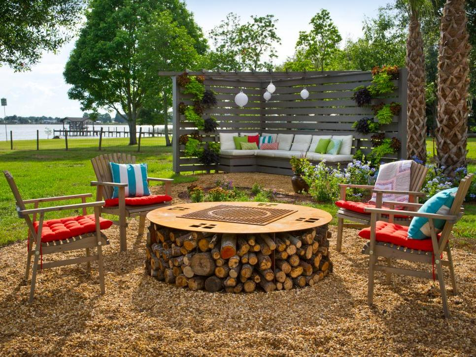 DIY Outdoor Fireplace Design