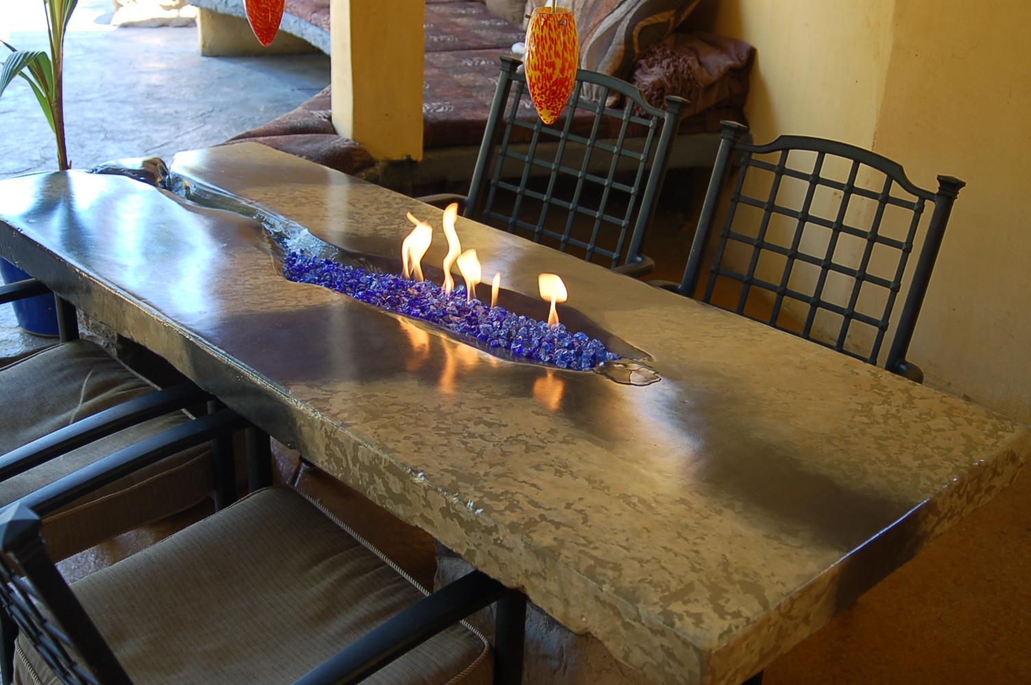 DIY Portable Fireplace Design