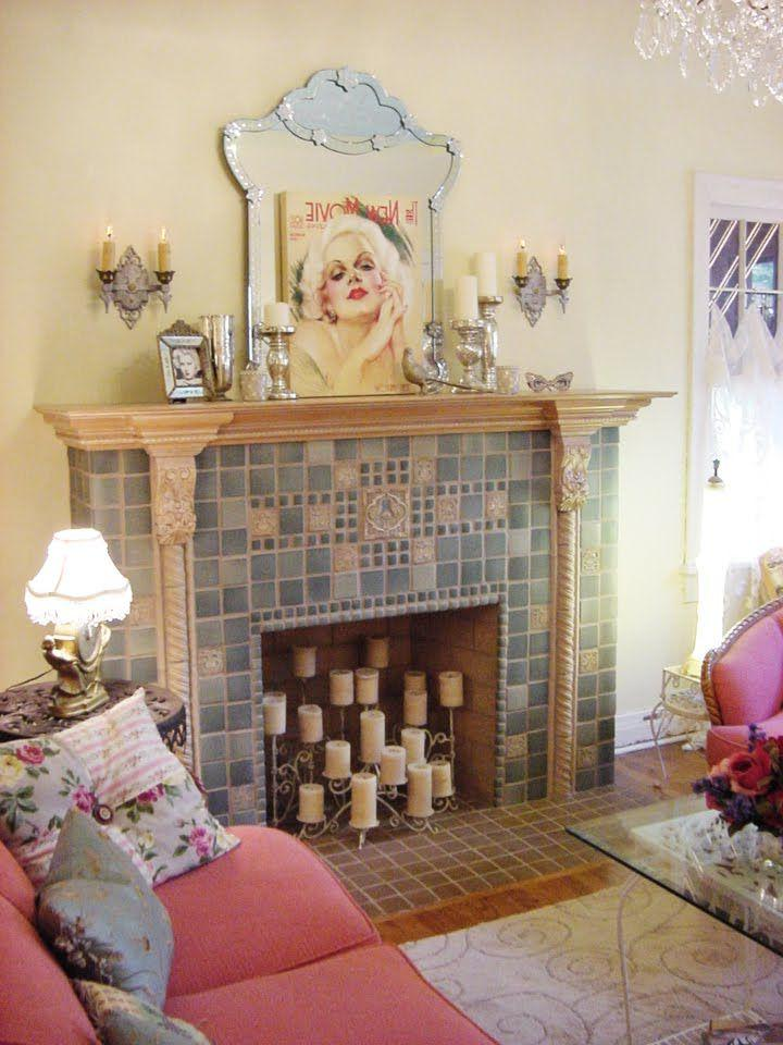 Decorative Fake Fireplace Design Ideas