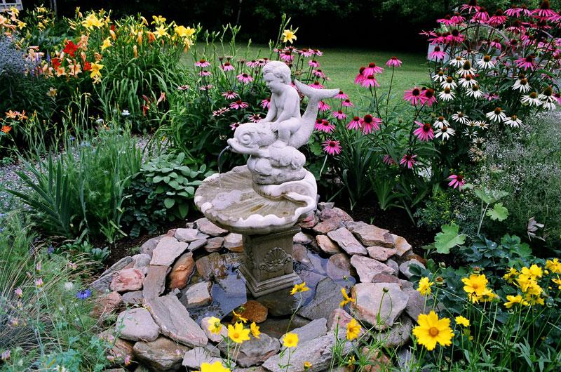 Fountain Garden Design