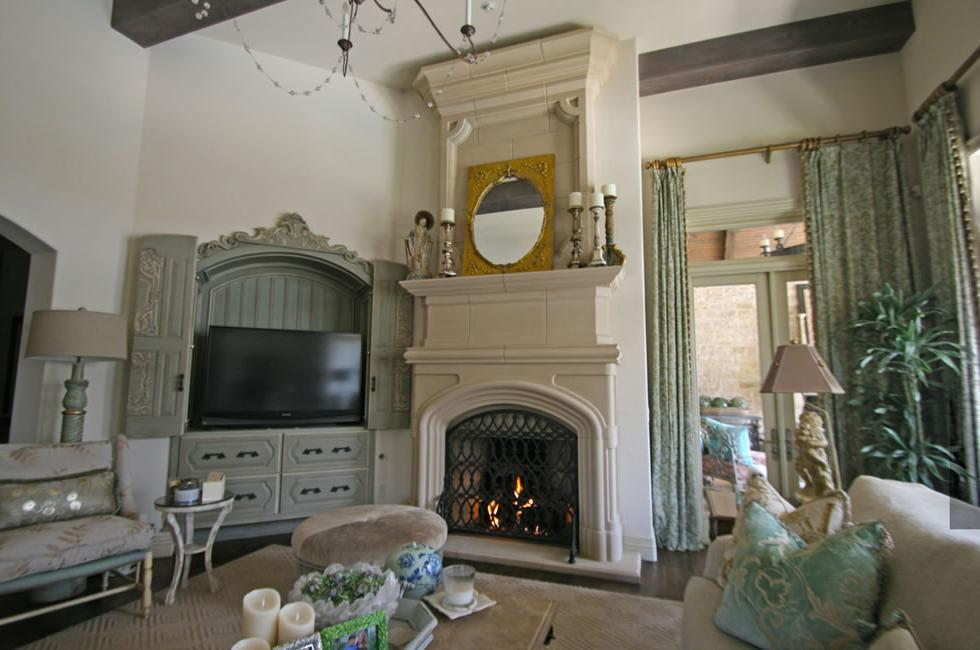 French Style Mantle Ideas