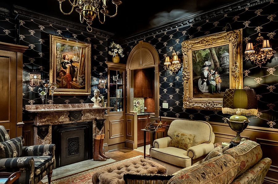 French Style Victorian Fireplace