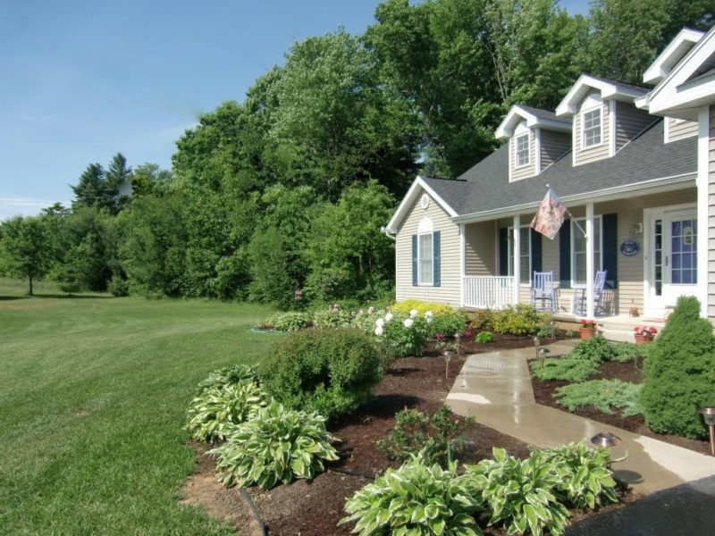 Front Elevation Gardening Zone