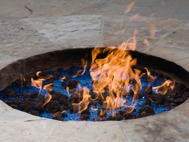Gas Fire Pit Fireplace