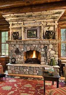 Lighter Shade Fireplace
