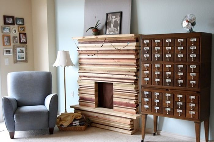 Line Up Wood Fireplaces