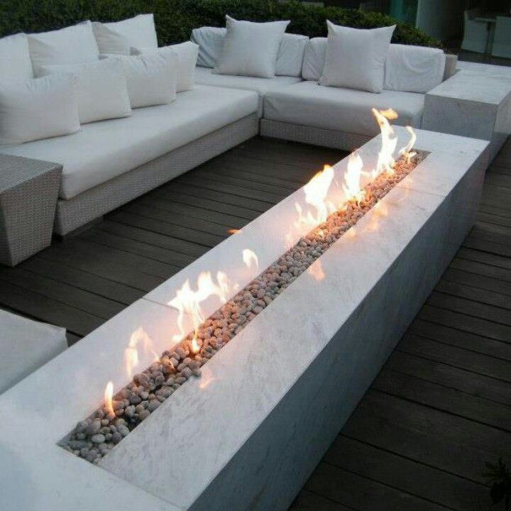 Lounge Route Ethanol Fireplace