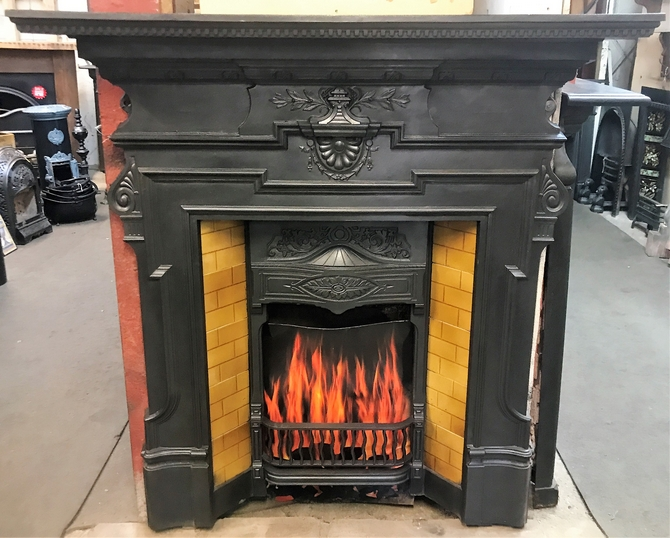 Old Victorian Fireplace