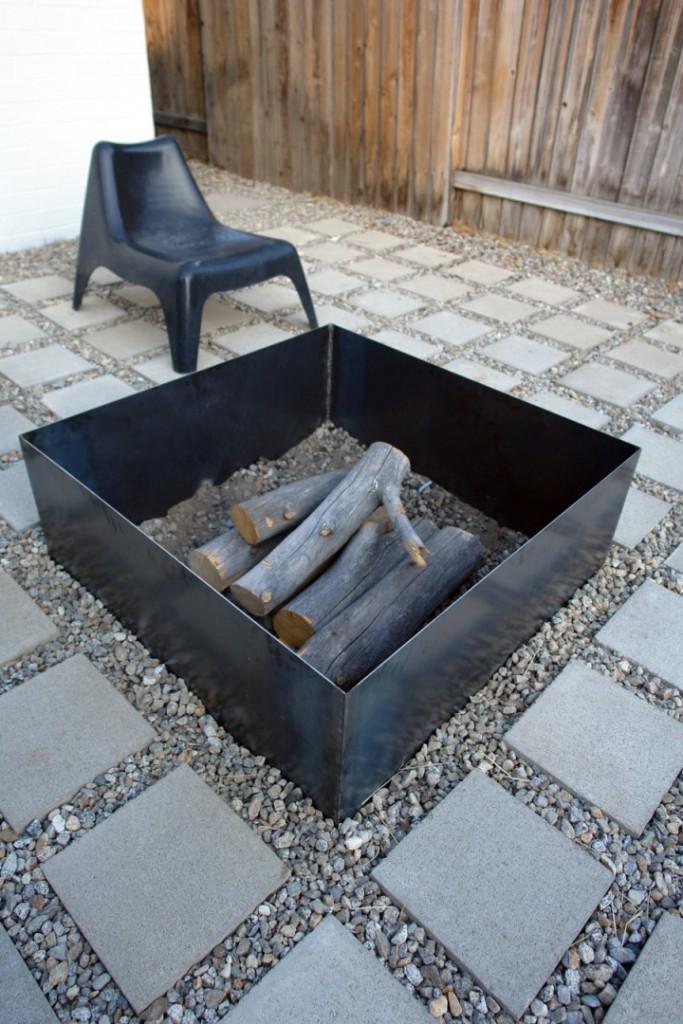 Simple Fireplace Design Idea
