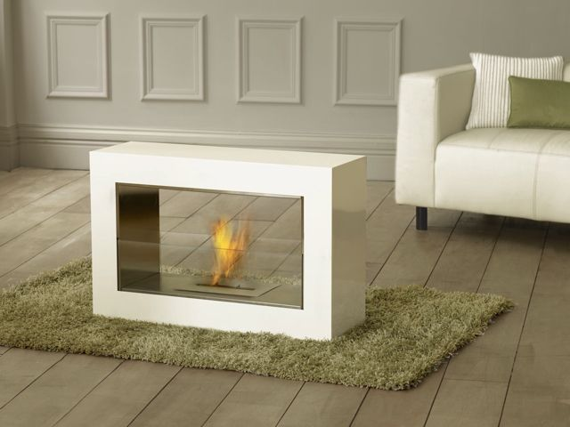 Sleek and Smart Fireplace