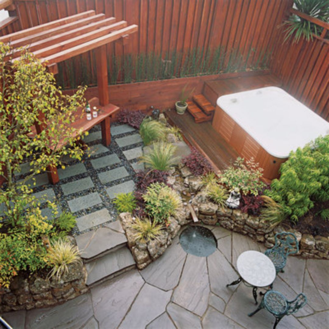 Small Patio For Garden