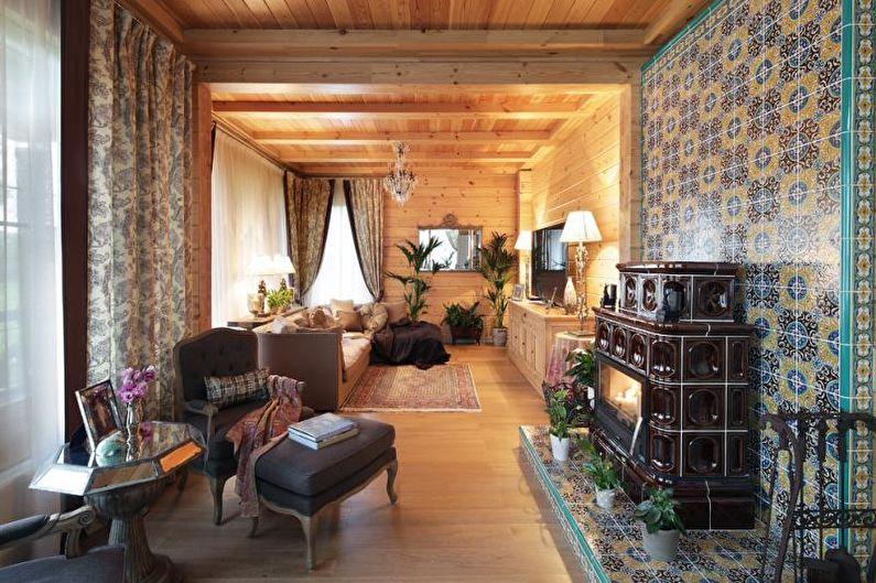 Stylish Modern Victorian Fireplace Decor