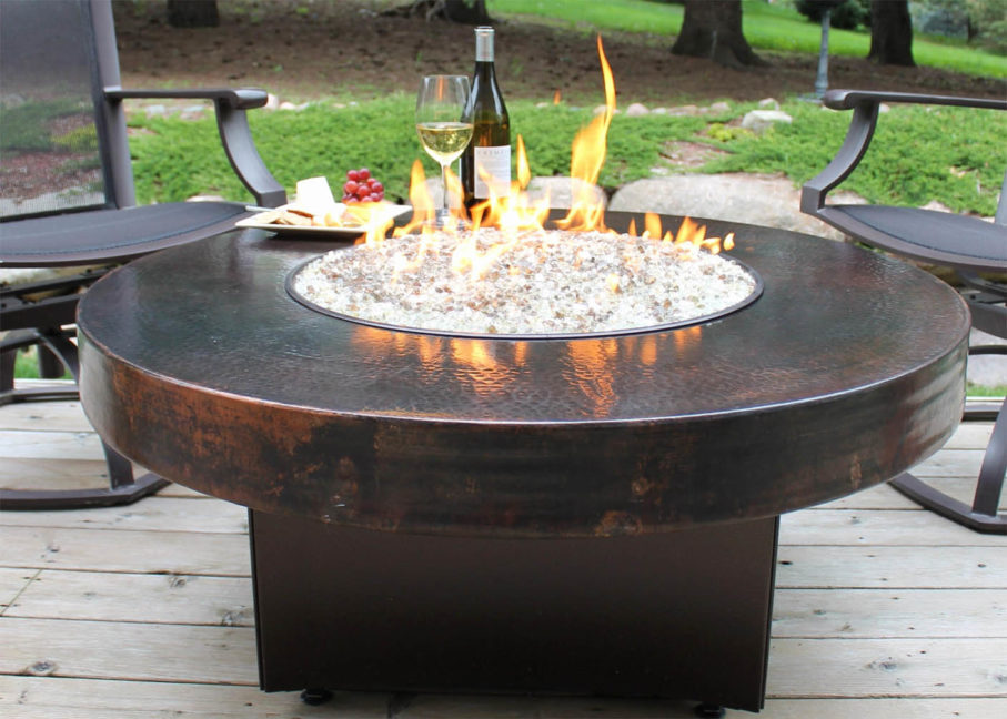 Tabletop Fire Pit Natural Gas