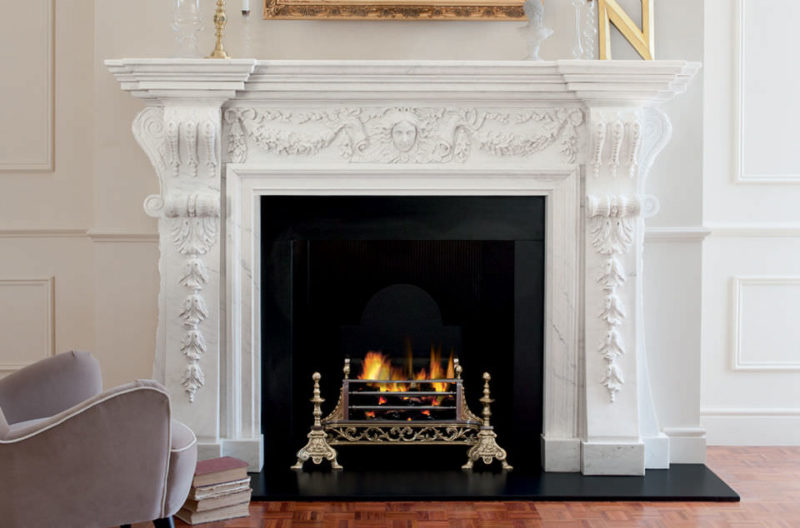 Traditional Mantel Fireplaces