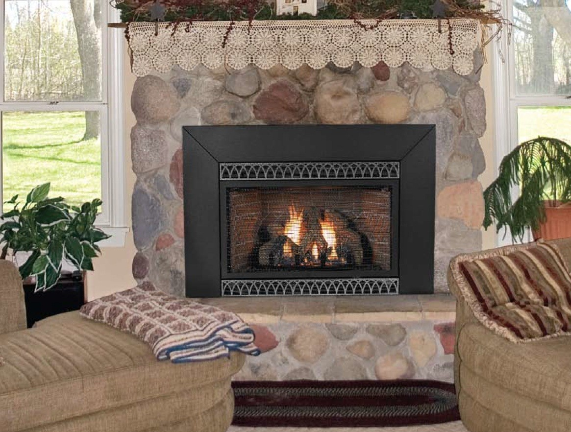 Traditional Style Smokeless Fireplace