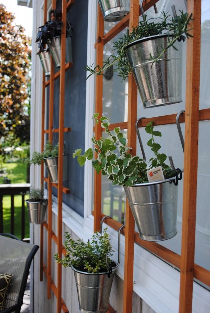 Trellis Garden design ideas.
