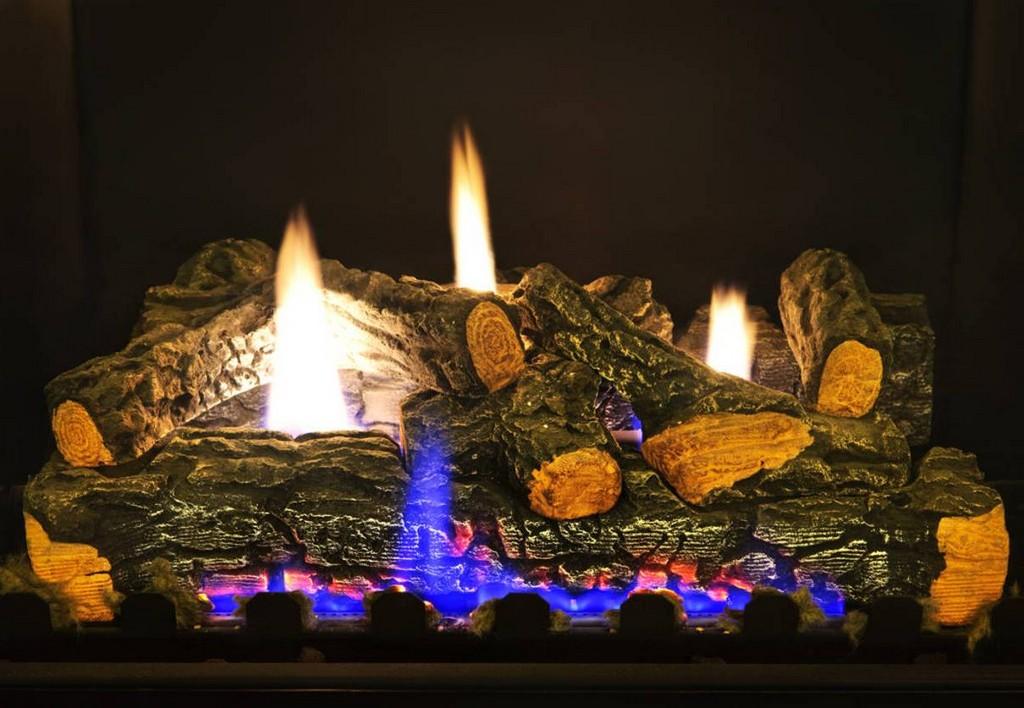 Unique Ventless Fireplace Design