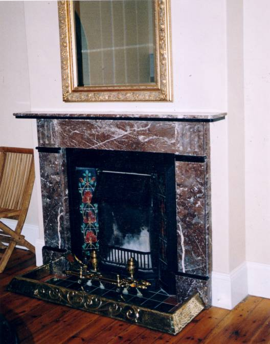 Victorian Style Fireplace of Stone