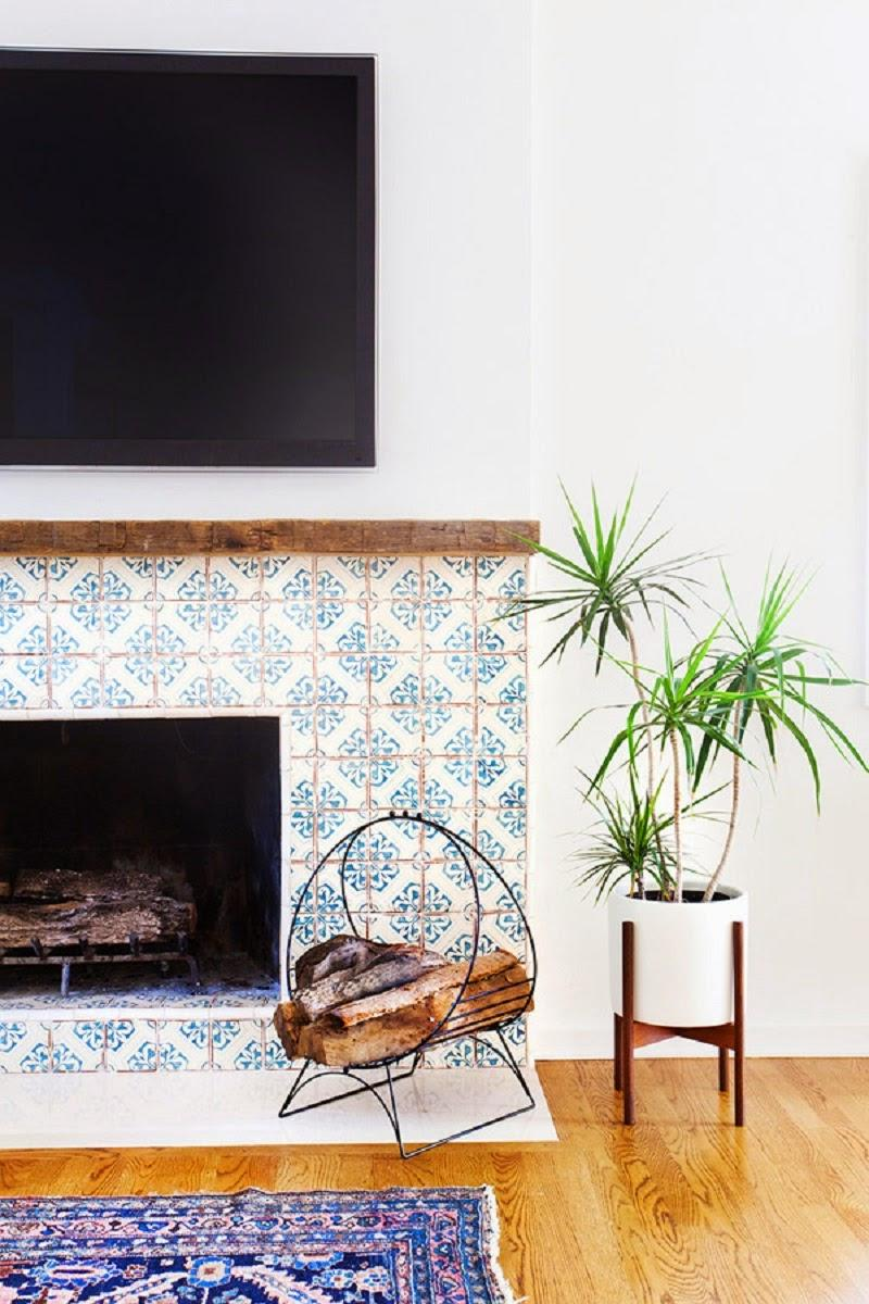 Vintage-Modern-Fireplace