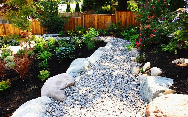 Walkway Gardening Zones