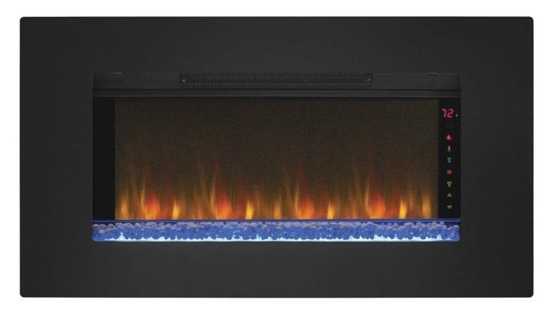 Wall Mounted Infrared Quartz Fireplace