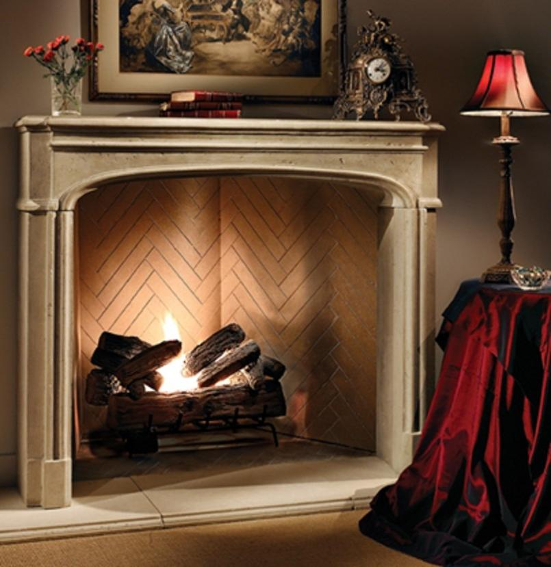antique fake fireplace for living room