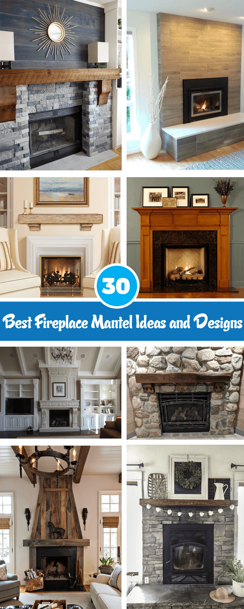 best fireplace mantel ideas and designs