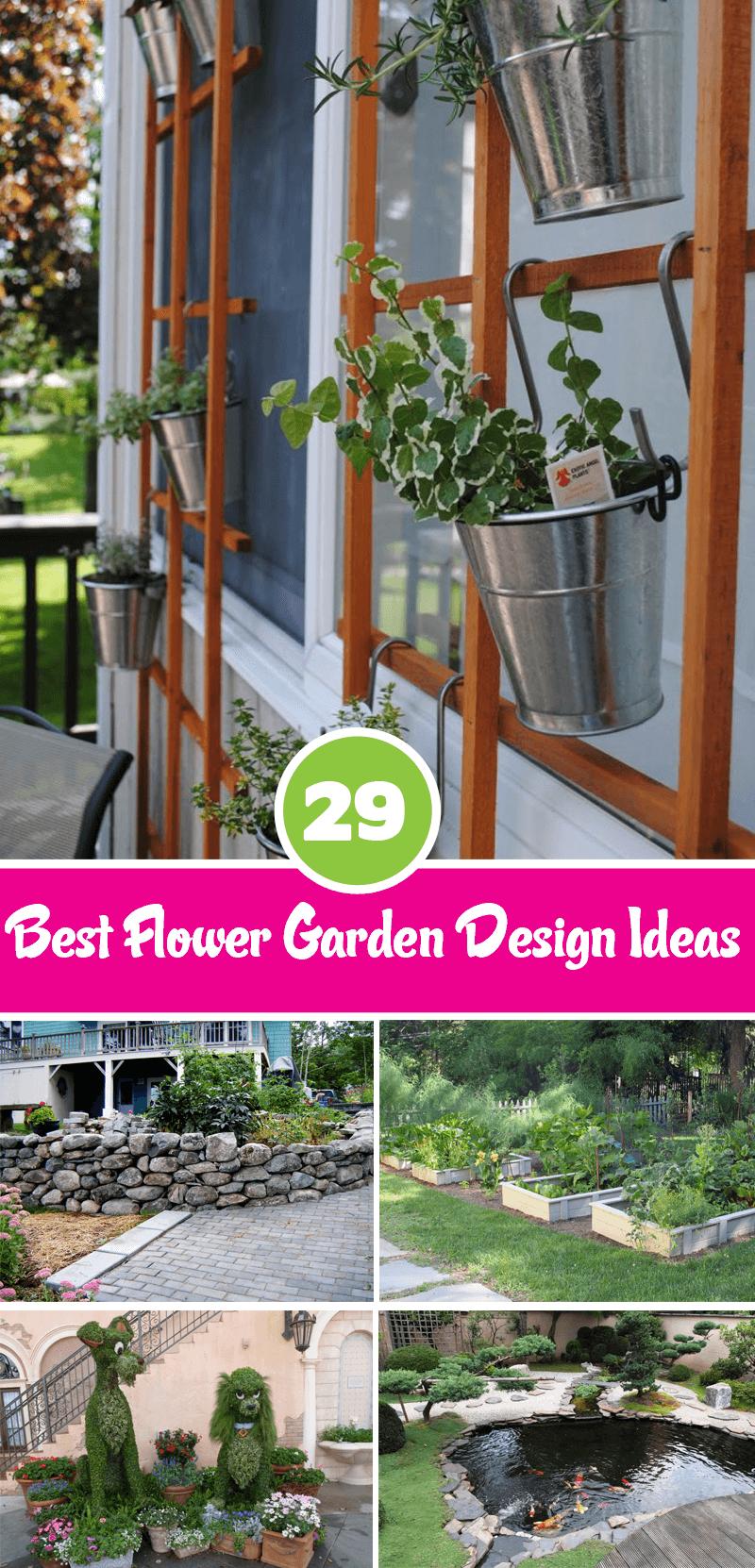 best flower garden design ideas