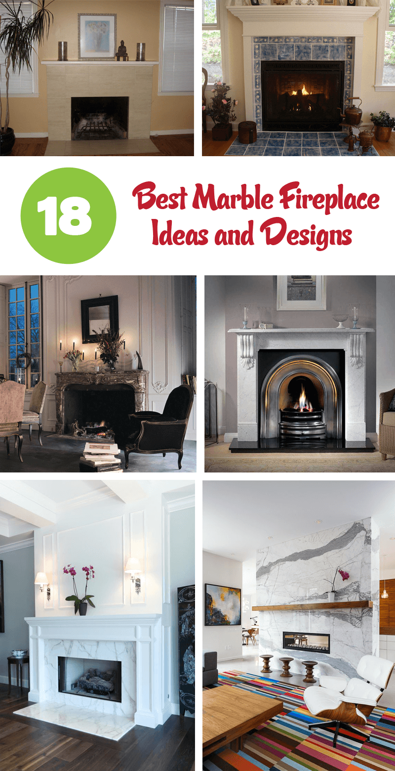 best marble fireplace ideas and designs